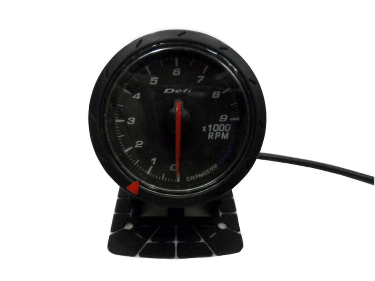 Jdm Black Face Non Smoke Tachometer Car Gauge Meter Rpm